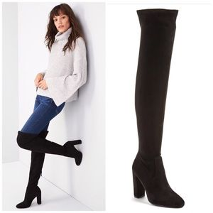 Steve Madden Emotions Stretch Over the Knee Boots
